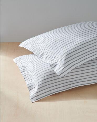 Organic Cotton Linen Sham Set