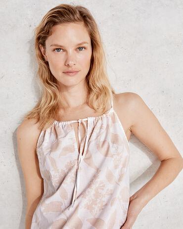True Cotton Floral Lace Cami