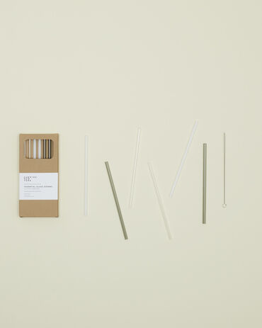 Hawkins New York Glass Straws