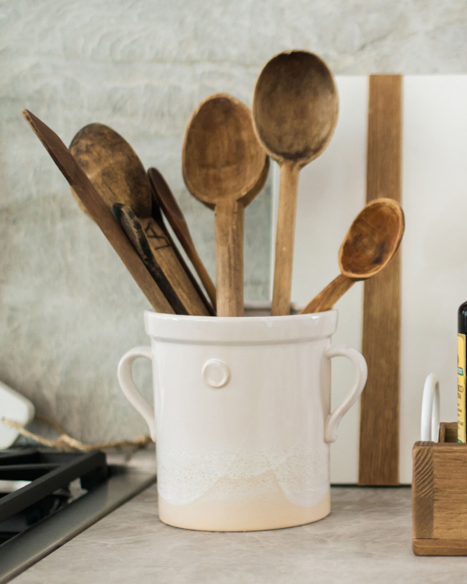 Etu home French utensil crock