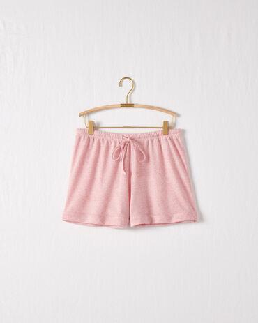 Brushed Featherweight Knit Drawstring Shorts