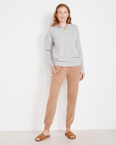 Pure Cashmere Knit Joggers