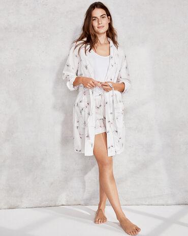 True Cotton Vintage Floral Robe