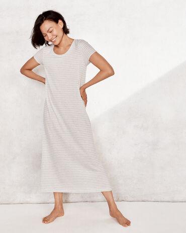 Dream Lounge Striped Sleep Dress