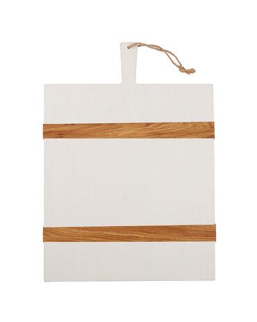 Etú Home White Rectangle Mod Charcuterie Board, Medium