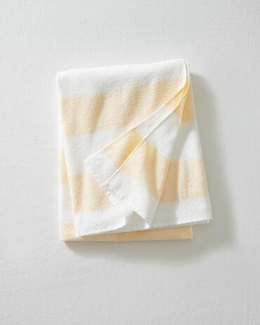 L'Appartement Thick Stripe Turkish Beach Towel