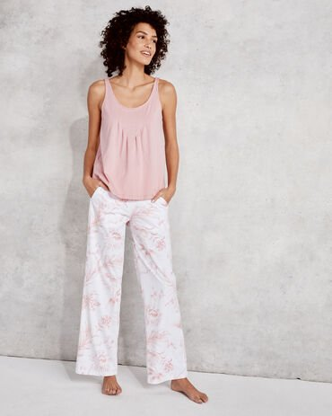 Organic Cotton Jersey Tropical Toile Pant