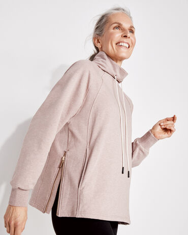 Varley Drawstring Sweatshirt