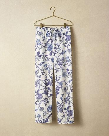 True Cotton Printed Drawstring Pant