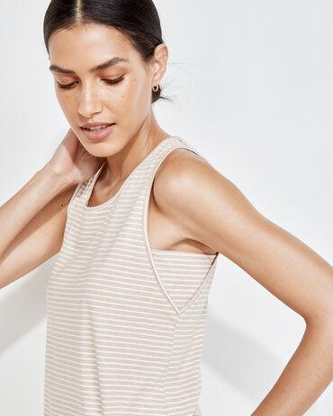 Organic Cotton Jersey Striped Tank