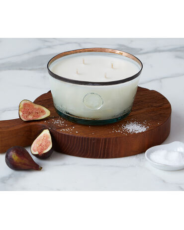 Etú Home Porto Vecchio Fig Leaf And Sea Salt Candle, Large