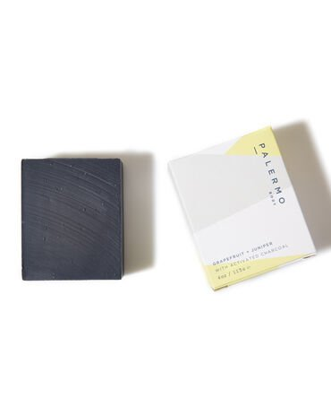 Palermo Grapefruit + Juniper Soap With Activated Charcoal