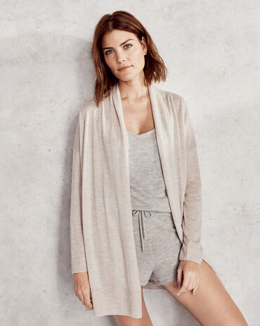 Pure Cashmere Featherweight Cardigan