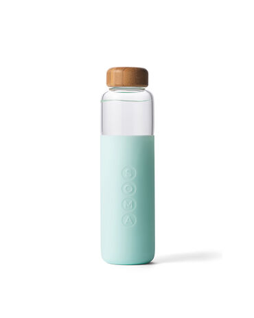 Soma Glass Water Bottle - 17 oz. Mint