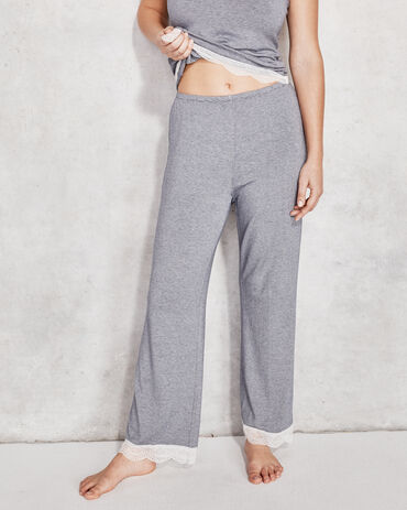 Cool Stretch Striped Lace Pant