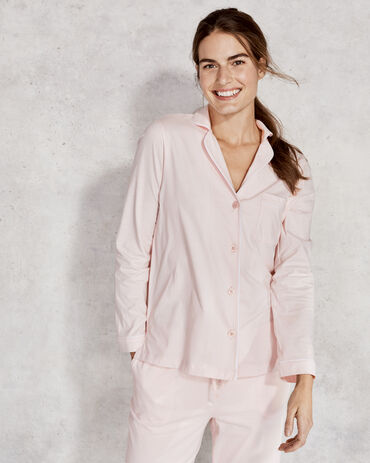 Organic Cotton Jersey Pajama Shirt