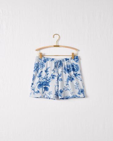 Dream Tencel™ Etched Floral Drawstring Shorts