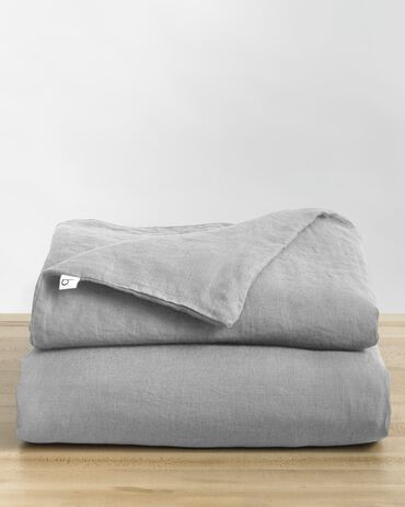 Baloo Living Linen Duvet Cover - Twin/Throw