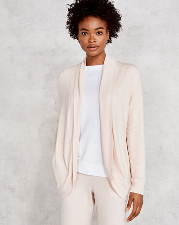 Modal French Terry Cocoon Cardigan