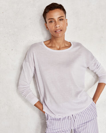 Pure Cashmere Featherweight Tie Front Sweater