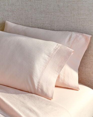 Organic Cotton Linen Sheet Set