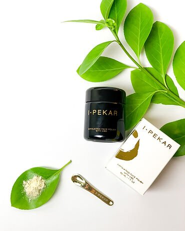 I·Pekar Exfoliating Face Polish With CBD