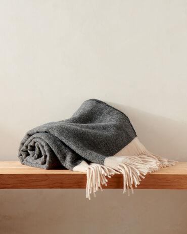 Herringbone Wool Throw