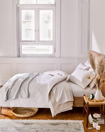 Organic Cotton Percale Duvet Cover