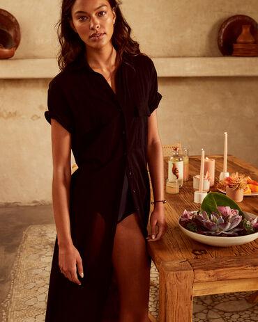 Mikoh Short Sleeve Maxi Dress