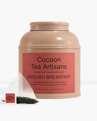 Cocoon Tea Artisans Organic English Breakfast Tea Tin