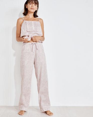 Organic True Cotton Floral Drawstring Pants