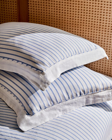 Organic Cotton Linen Sham Set