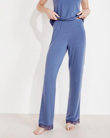 Dream Tencel™ Lace Trim Pants