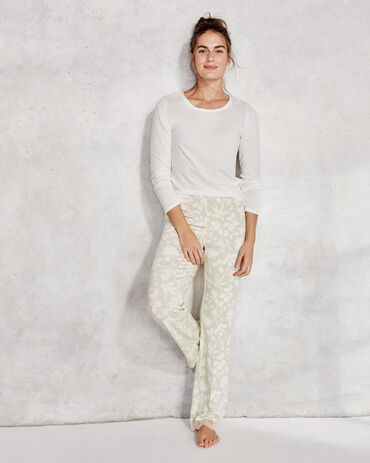 Cool Stretch Floral Lace Pant