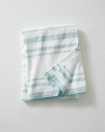 L'Appartement Stripe Turkish Beach Towel