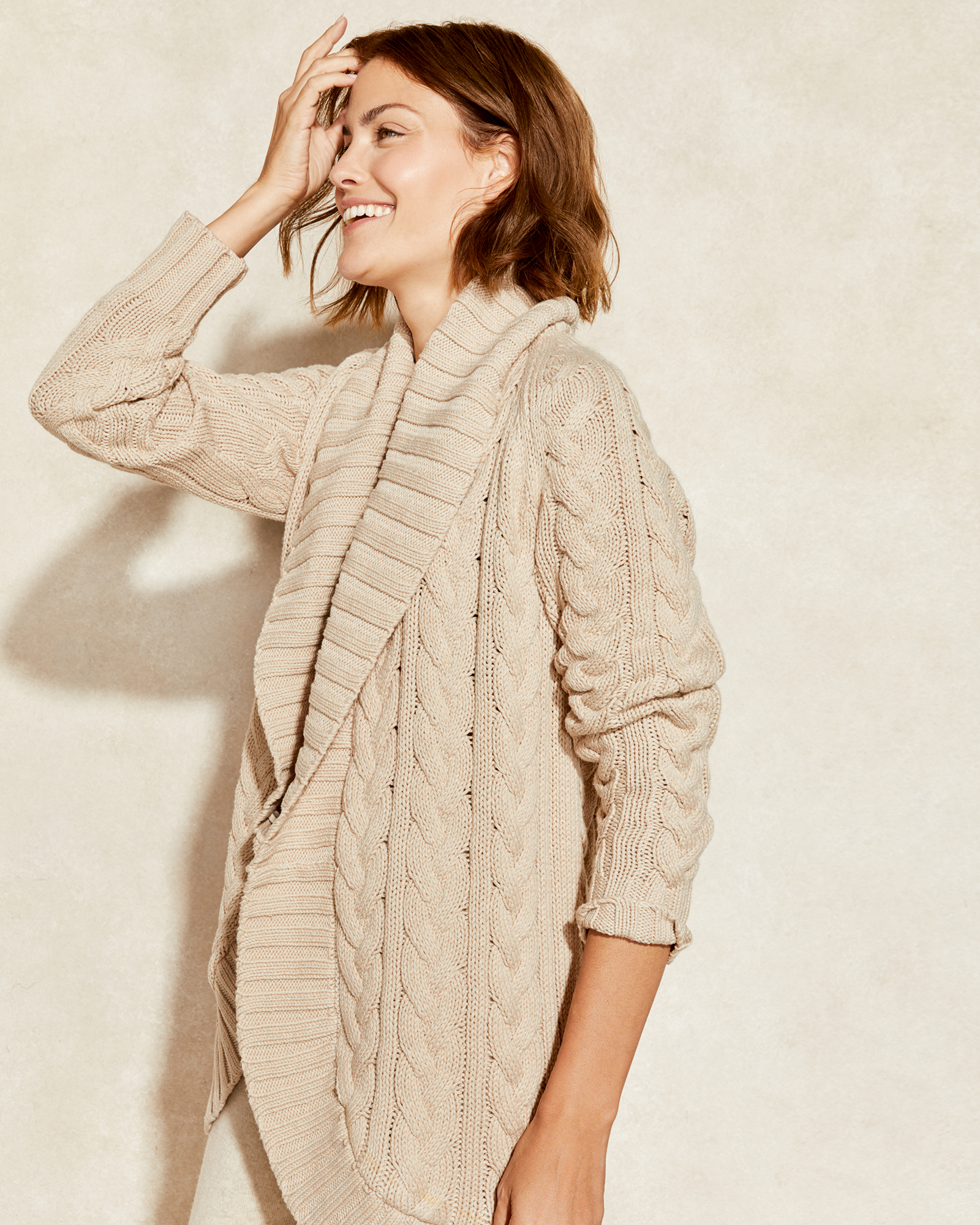 Cable Cocoon Sweater