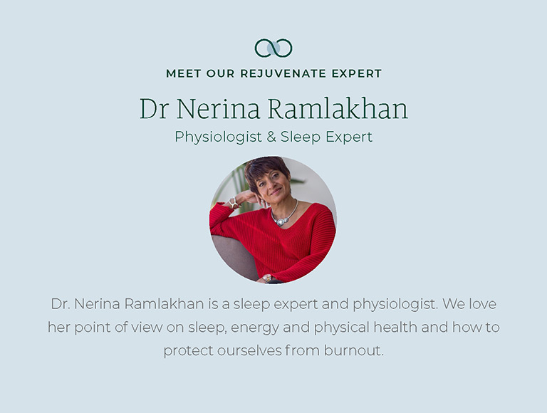 Meet our Rejuvenate Expert, Dr. Nerina Ramlakhan