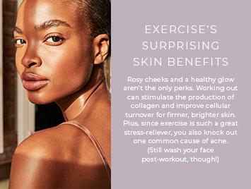 Exercise's surprising skin benefits