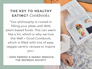 The key to healthy eating? Cookbooks.