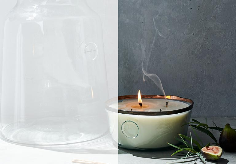 CANDLES + FRAGRANCE